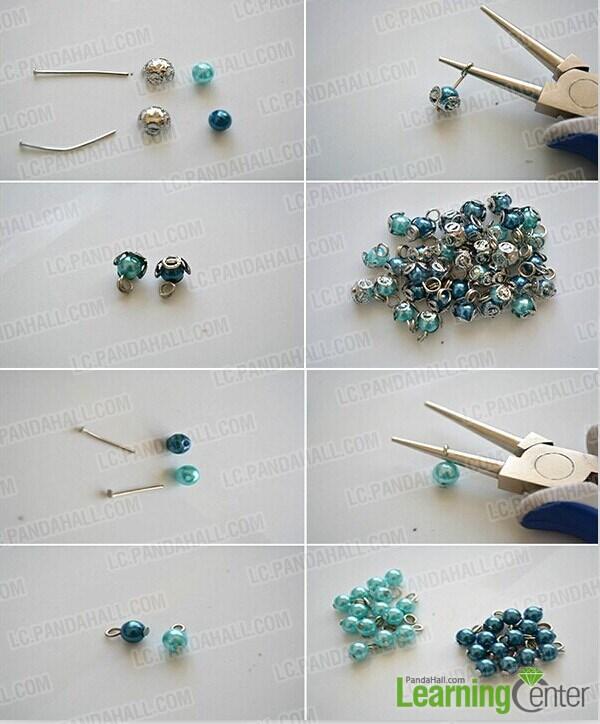 make enough pearl dangles