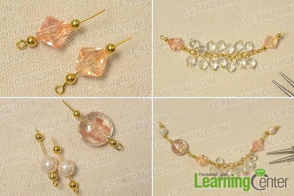 make the rest part of the gemstone beaded bracelet