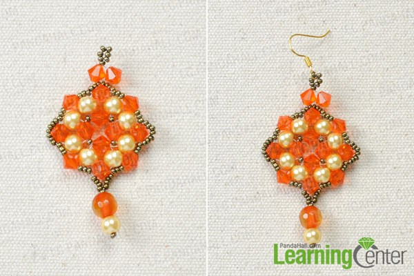 Finish the free beaded earrings patterns