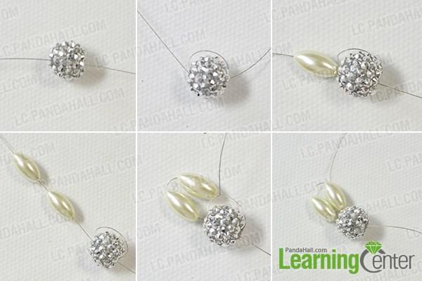 make bead flowers