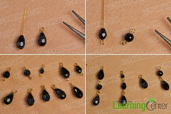 Make the bead links