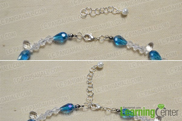 How to Make a Beaded Butterfly Charm Statement Necklace 10