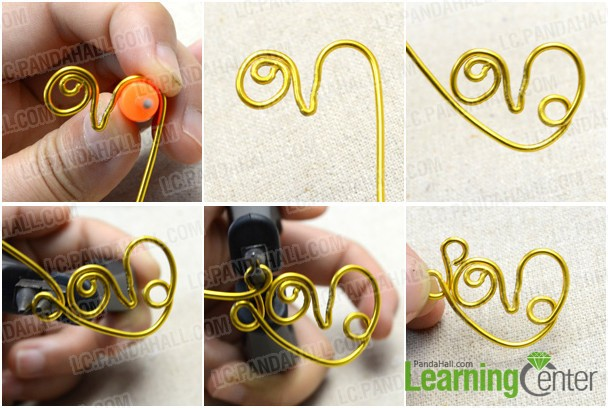 finish making the main body of this love ring