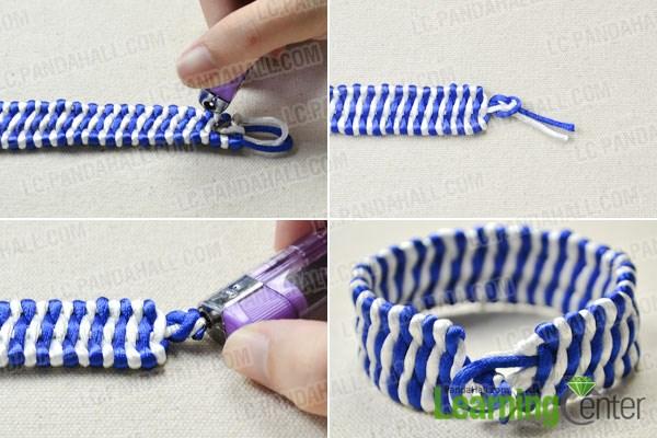 Finish friendship bracelet patterns for guys