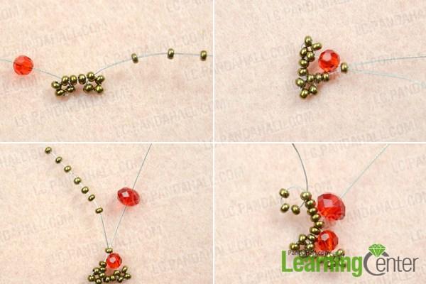 Make basic twist earrings