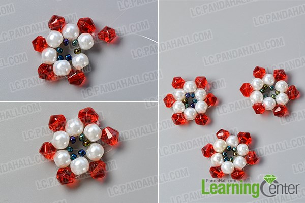 Make more beaded flowers