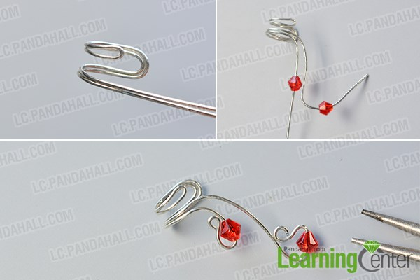 Make the wire cuff earring