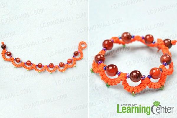 tatting with beads patterns
