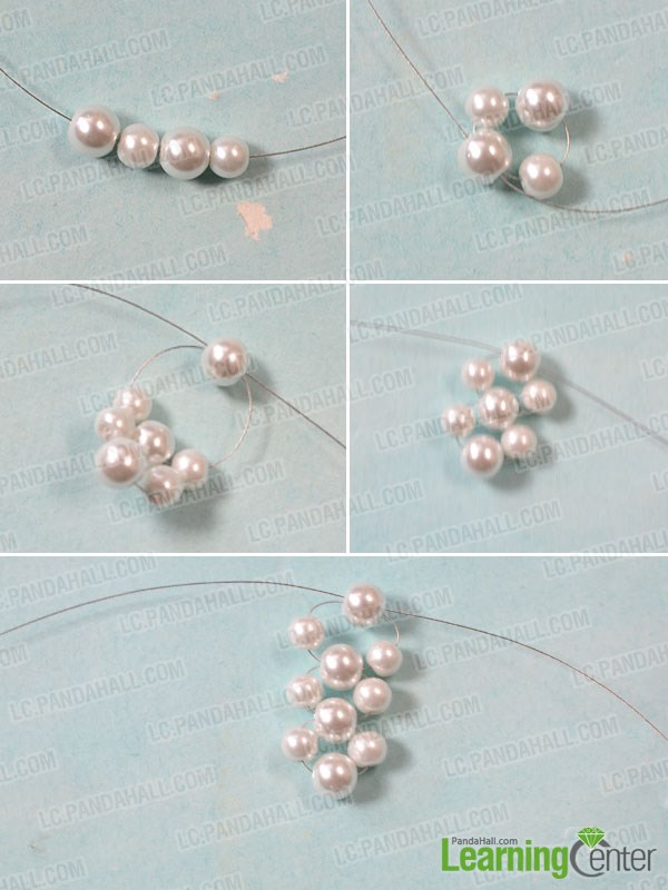 How to Make a Pair of Pearl Ball Drop Earrings for Brides ...