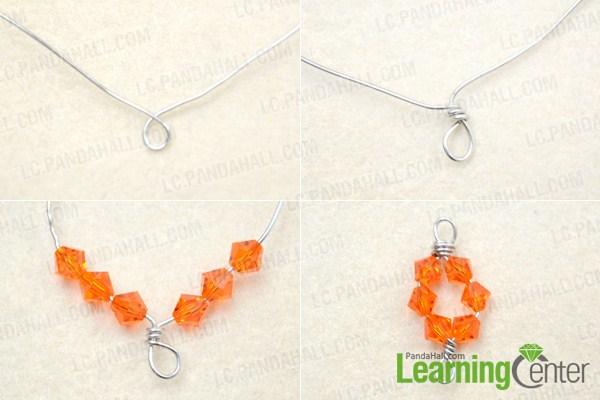 How To Make Vibrant Orange Teardrop Earrings For Cool
