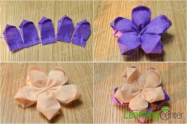 make two flowers