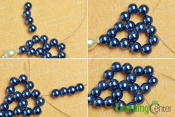 Make other 2 bead loops