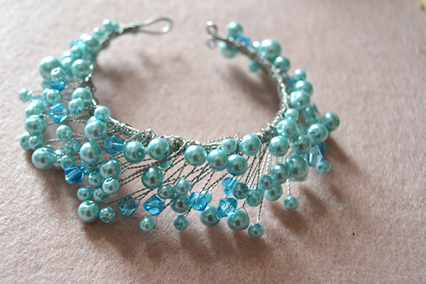 How to Make Free Beaded Bracelet Patterns at Home with Pearl Beads and Wires