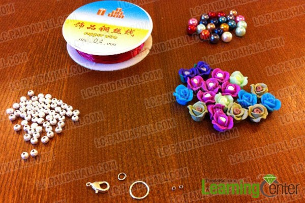 materials needed in making a beaded bracelet