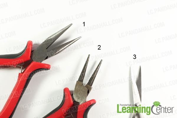 tools for making silk ribbon bracelet