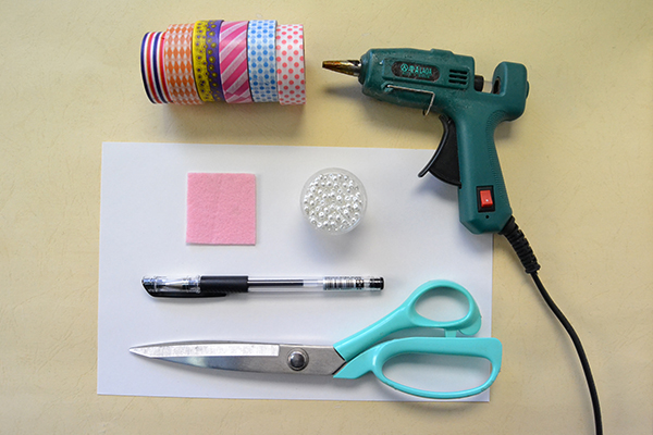 supplies needed in DIY the thank-you card for Mother's Day