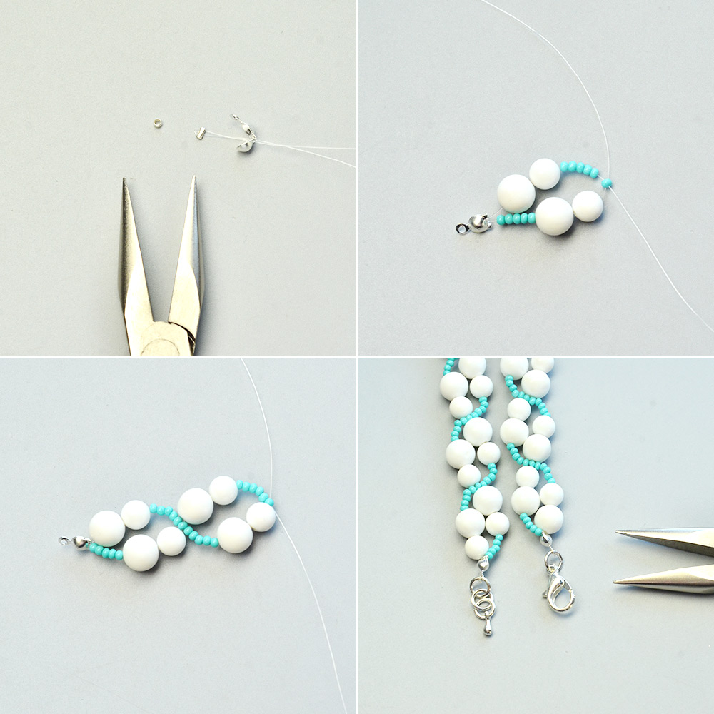 PandaHall Tutorial on Pretty Bracelet with Giant Clam Shell Beads