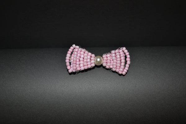 How to Make Your Own Stitch Pink Beaded Hair Bows Tutorial final