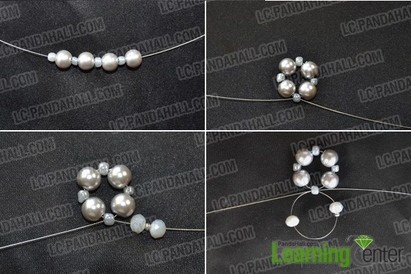 How to Make Bead Wedding Pearl Jewelry Sets With Seed Beads by Your Own Hands 1
