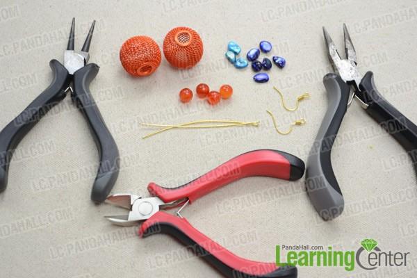 Necessities for lantern earrings: