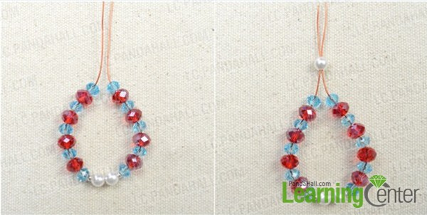 How to Make Beaded Earrings String 1st Make The Beads String a
