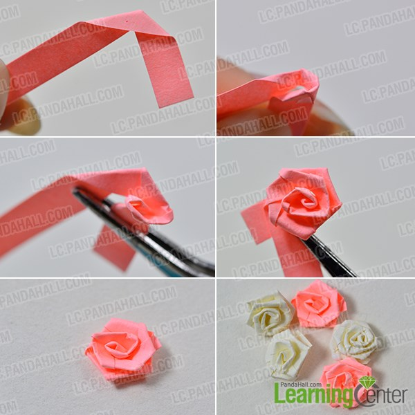 Free Instructions on How to Make a 3D Paper Quilling Cake