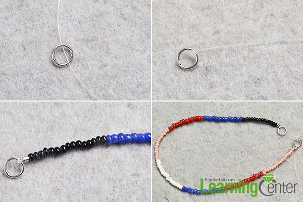 Make a seed bead strand