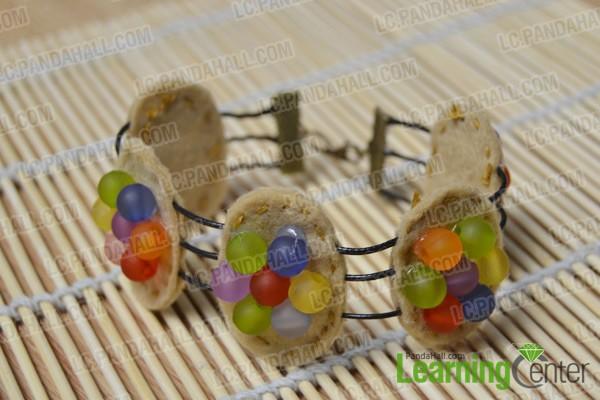 finished Chips Ahoy cookie bracelet