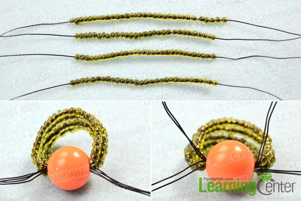 Wire bead ring tutorial