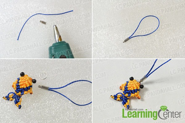 make the rest part of the yellow woven fish ornament