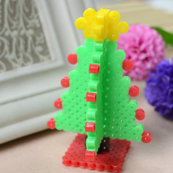 3d hama bead Christmas tree