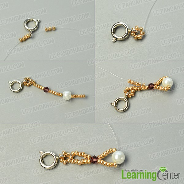 Make a basic bead pattern