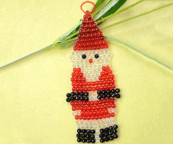 how to make a Santa Claus ornament