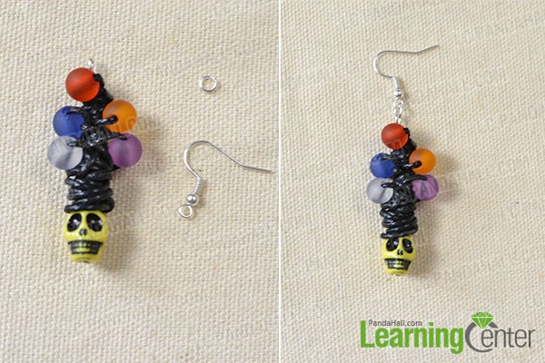 add beads and earring hook2