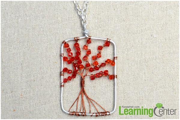 complete the charm tree pendant