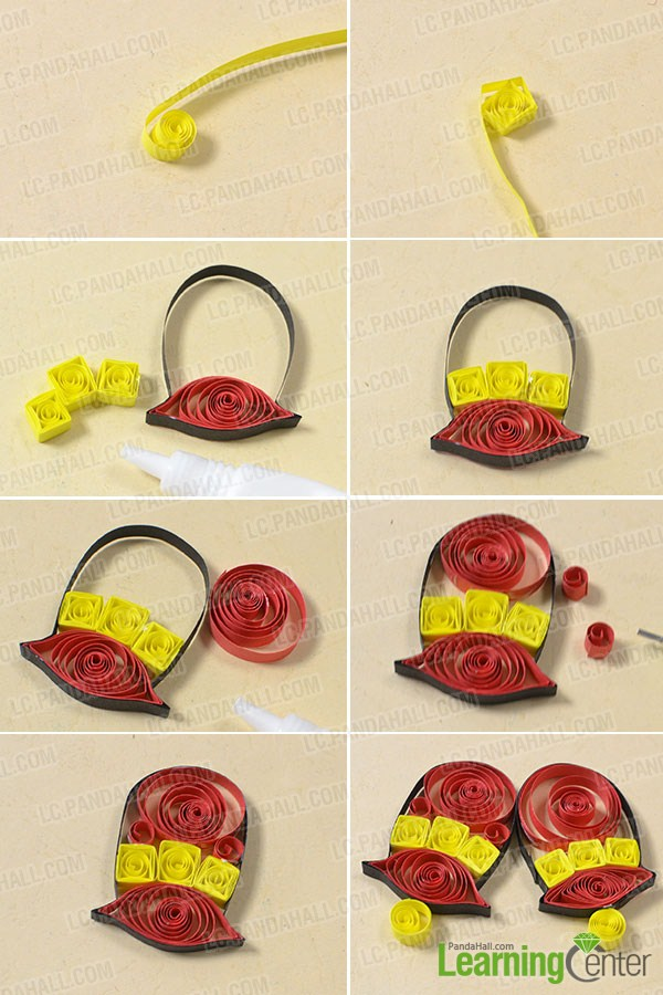 Free Tutorial on How to Make Paper Quilling Christmas Bell Cards- Pandahall.com