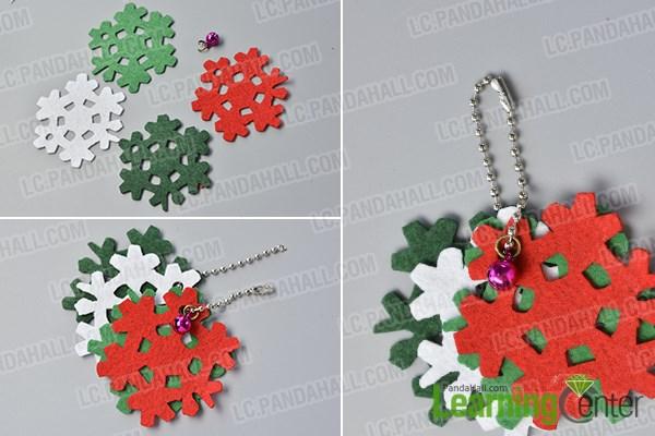 Make the snowflake dangle