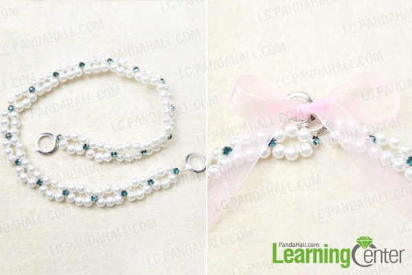 Finish pearl wedding hair accessories