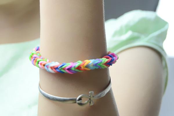loom fishtail bracelets