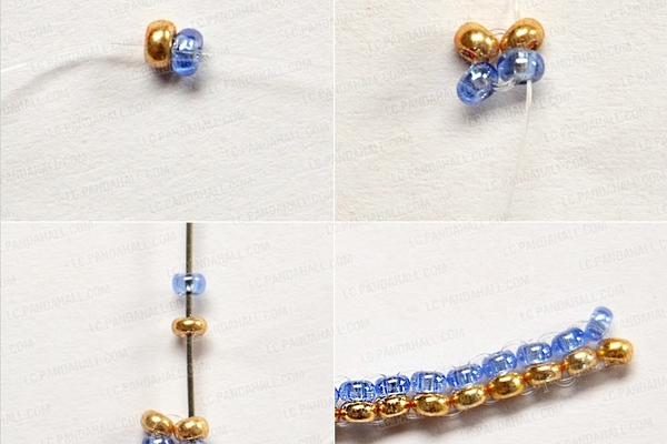PandaHall Ideas on Making simple Beaded Earrings
