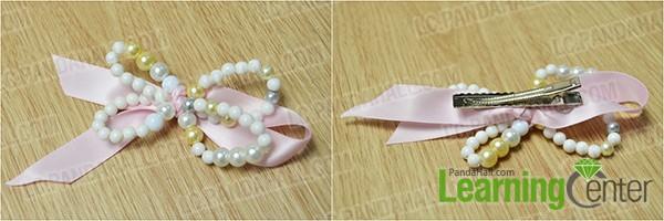 glue hair clip