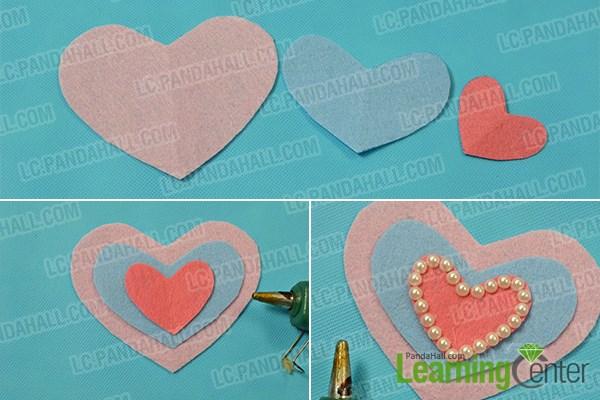 Shape the heart ornament