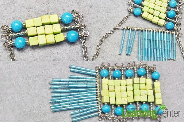 Make more bead patterns for the pendant