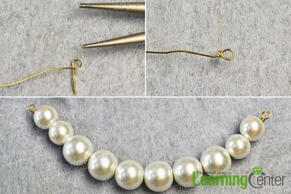 make the basic pearl beaded pattern