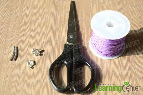 materials for the thread bracelet