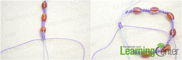 Complete the shamballa bead bracelet