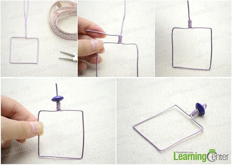 Wrap a square frame