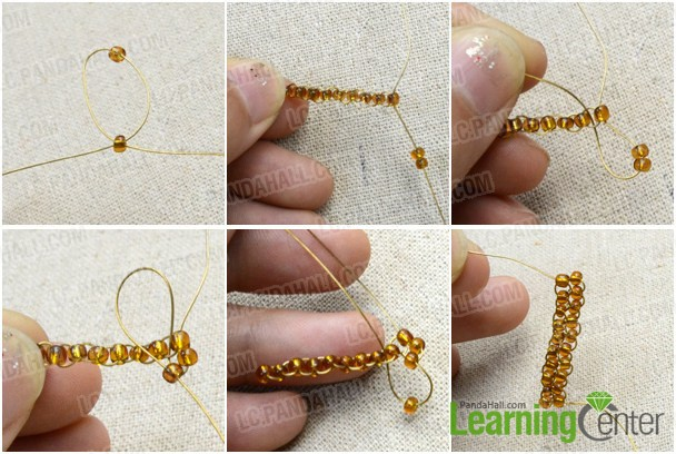 Slide Beads With Brick Sch Skills
