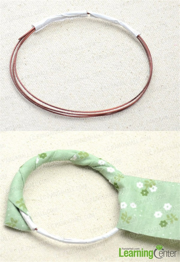 Secure and adorn the bangles