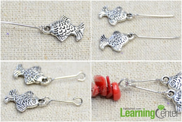 Step 2: Add fish pendants